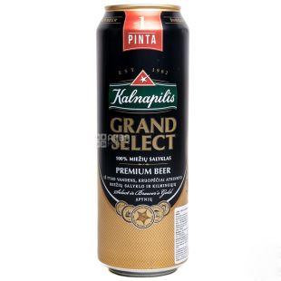 Kalnapilis Grand Select Пиво, 0.5л, жестяная банка