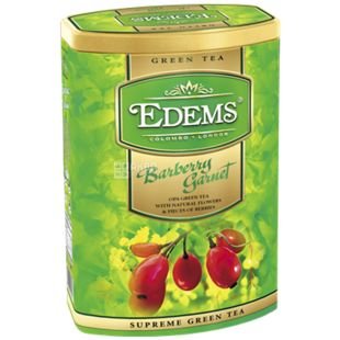 Edems Barberry Pomegranate Green leaf tea, 200g, can
