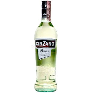 Cinzano Bianco, Вермут напівсолодкий, 0,75 л