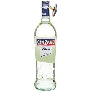 Cinzano Bianco, Вермут полусладкий, 1 л
