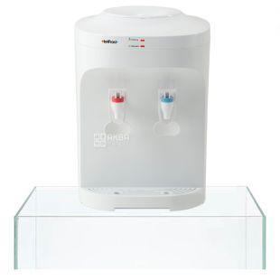 HotFrost D120E, Desktop Water Cooler, White, 2 Cranes