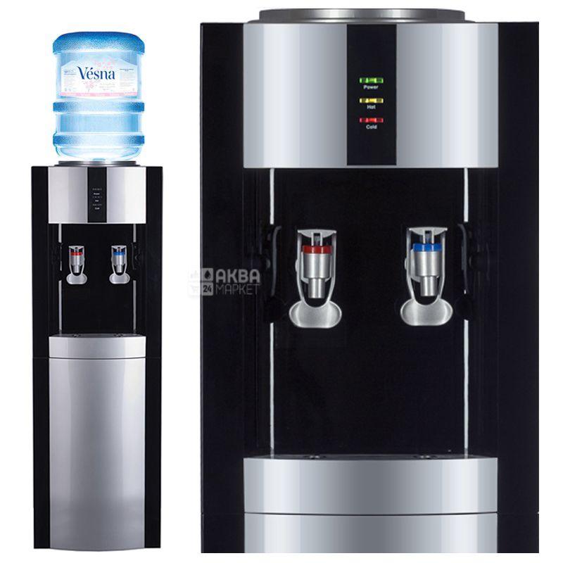 Ecotronic V21-L Black-Silver, Кулер для води з компресорним охолодженням, підлоговий