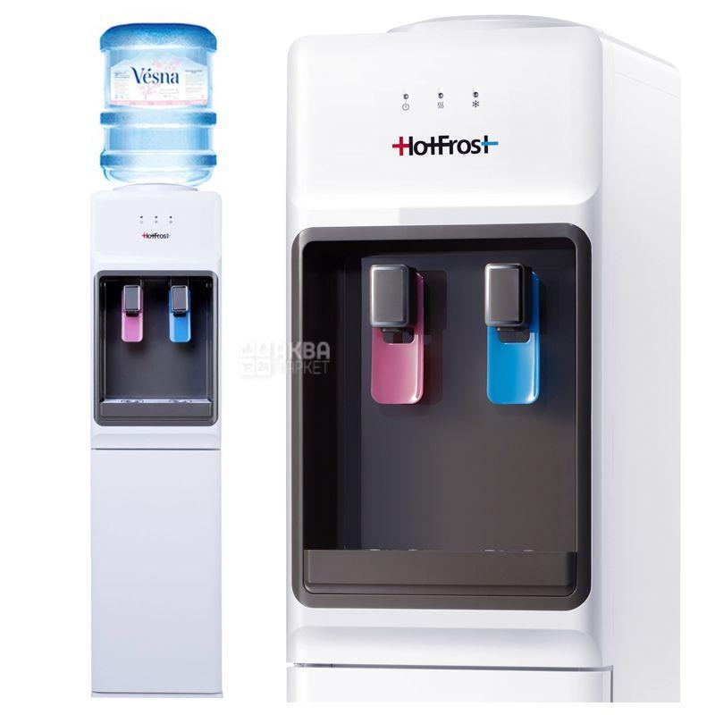 HotFrost V1133, Кулер для воды с компрессорным охлаждением, напольный