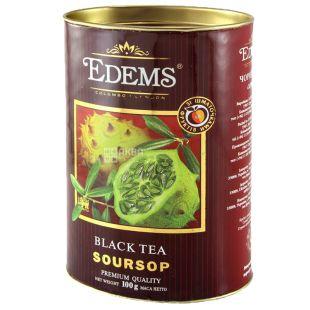 Edems Soursop Чай чорний листовий, 100г, тубус