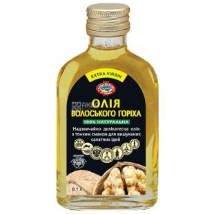 Golden Kings of Ukraine, 0,1 л, масло, грецкого ореха, нерафинированное