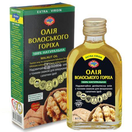 Golden Kings of Ukraine, 0,1 л, олія, грецького горіха, нерафінована