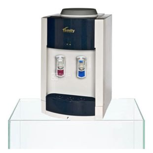 Family WBF-1000S BLUE, Кулер для води з компресорним охолодженням, настільний
