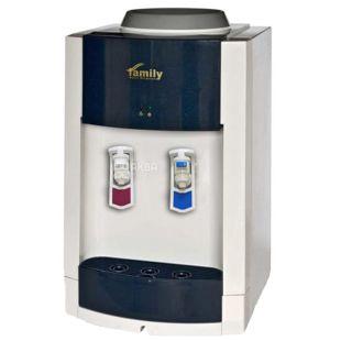 Family WBF-1000S BLUE, Кулер для воды с компрессорным охлаждением, настольный