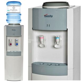 Family WBF-1000LA Silver Floor Water Cooler