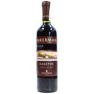 Inkerman Cabernet dry red wine 0.7 l