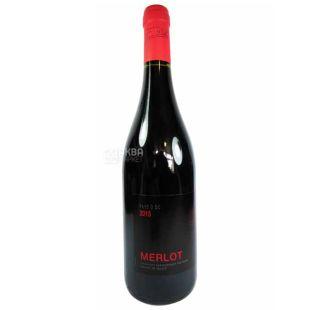 Jean Dellac Merlot, Вино червоне сухе, 0,75 л