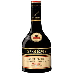 Saint Remy Authentic VSOP, Бренди, 4 года выдержки, 0,5 л
