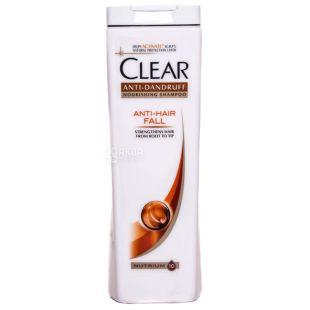 Clear Защита от выпадения волос Для женщин Шампунь против перхоти, 400мл, пластик