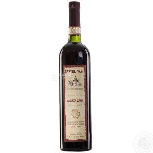 Kartuli Vazi Алазанская долина, Вино красное полусладкое, 0,75 л