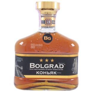 Bolgrad V.S, Коньяк Украины ординарный 3*, 40%, 0,5 л