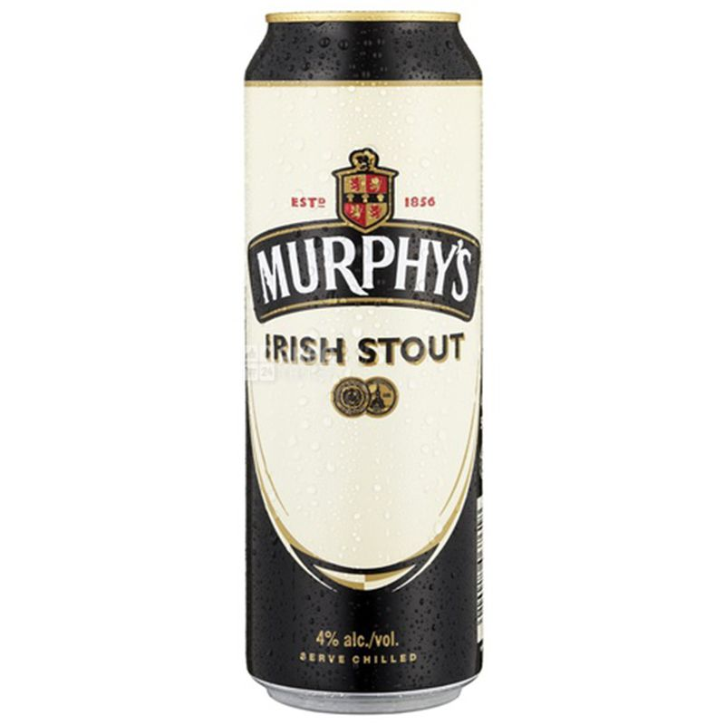 Murphy's Irish Stout, Пиво темное, 0,5 л, ж/б