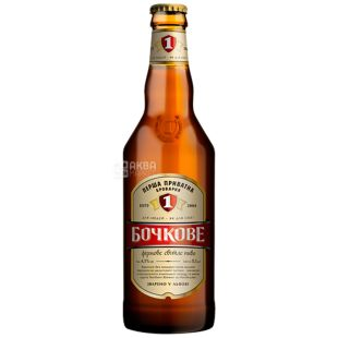 The first private brewery Bochkovaya beer is light, 0,5 l