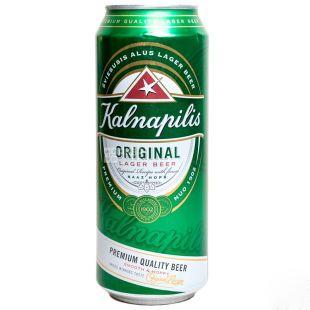 Kalnapilis Original Пиво светлое, 0.5л, жестяная банка