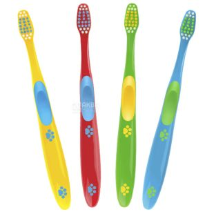 Amway, 1 pc., Children's Toothbrush, Glister Kids, Assorted
