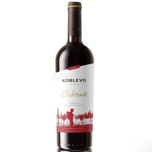 Koblevo Bordeaux Cabernet dry red wine, 0.75 l