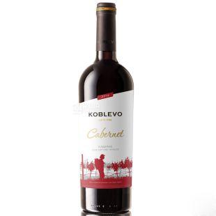 Коблево Бордо Каберне, Вино красное сухое, 0,75 л