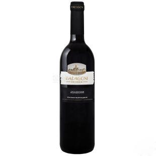 Badagoni, Akhasheni, Вино червоне напівсолодке, 0,75 л