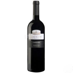 Badagoni Саперави Вино, Красное сухое, 0,75 л, Стекло