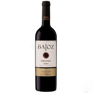 Bajoz Крианса Вино, Красное сухое, 0,75 л, Стекло