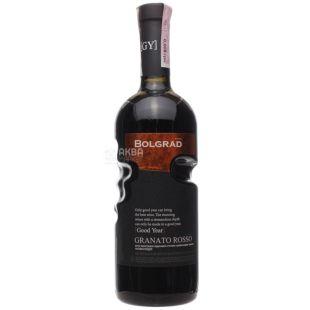 Bolgrad Granato Rosso Вино, Красное полусладкое, 0,75 л, Стекло
