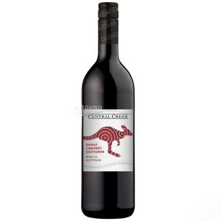 C Creek Каберне Шираз Вино, Красное сухое, 0,75 л, Стекло
