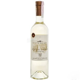 Chateau Cotnar dry white wine, 0.75l