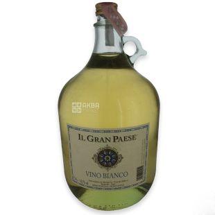 IL Gran Paese Вино белое полусладкое, 5л