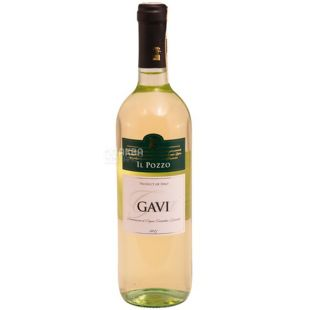 IL Pozzo Gavi Вино белое сухое, 0,75 л