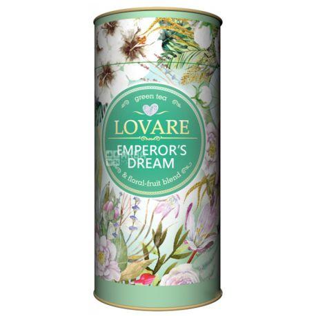Lovare, Emperor's Dreams, 80 г, Чай Ловаре, Мечты Императора, Зеленый, тубус