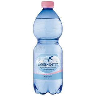 San Benedetto, Mineral water, Still, 0.5 L, PET, PAT