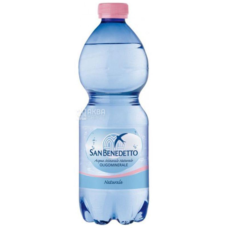 San Benedetto, 0,5 л, Сан Бенедетто, Мінеральна вода негазована, ПЕТ