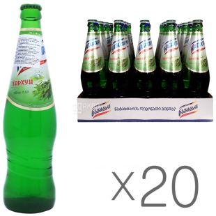 Натахтарі, Тархун, 0,5 л, Упаковка 20 шт., Лимонад, скло