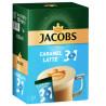 Jacobs 3 в 1 Caramel Latte, 24 шт. x 12,3 г, Кавовий напій Якобс Карамель Латте, у стіках
