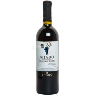 Shabo Класика Шабський погріб вино червоне напівсолодке, 0,75л