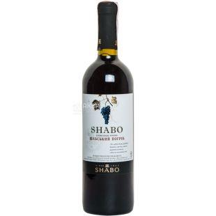 Shabo Классика Шабский погреб вино красное полусладкое, 0,75л