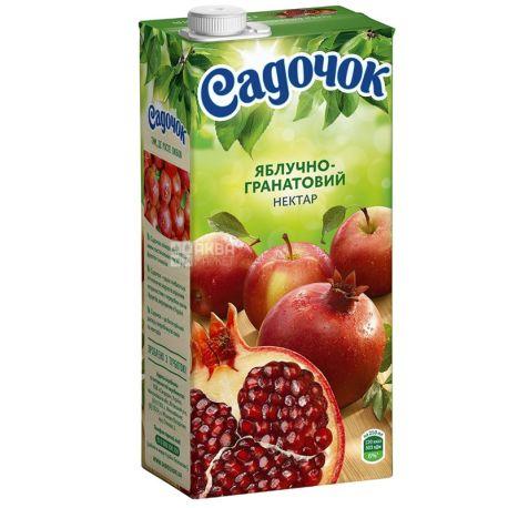 Садочок, Яблочно-гранатовый, 0,95 л, Нектар натуральный