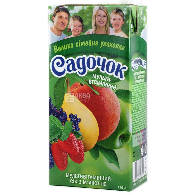 Сок  Садочок Мультивитаминный 1,93 л Тетрапак
