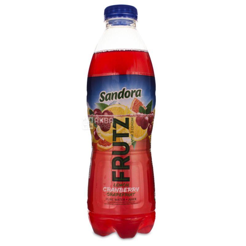 Sandora Frutz напиток соковый лимон-клюква-грепфрут 0,4 л пэт