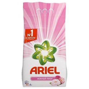 Ariel, Стиральный порошок, Автомат, Нежный Пион, 3 кг