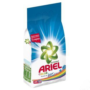 Ariel Color Touch of Lenor Fresh, Пральний порошок, Автомат, Ленор ефект, 3 кг
