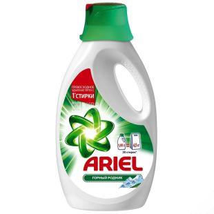 Ariel Горный родник, Жидкий стиральный порошок, 1,95 л