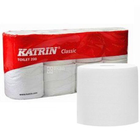 Katrin, туалетная бумага, 8 рулонов, Classic