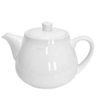 Helfer Чайник 21-04-249 фарфоровый белый, 700мл