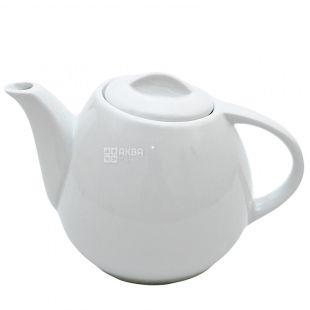 Helfer Чайник 21-04-238 фарфоровый белый, 600мл