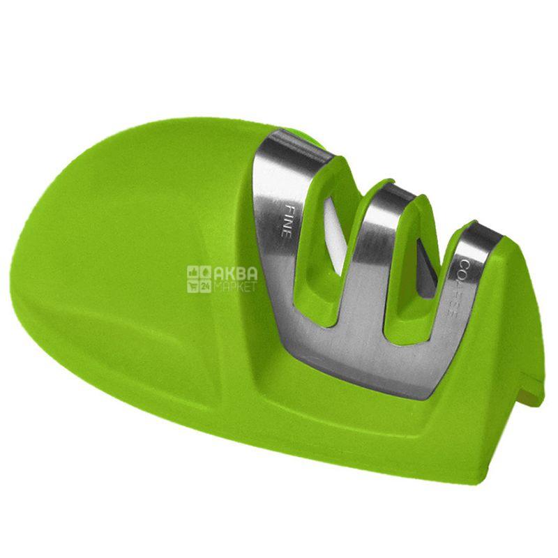 Maestro MR-1494 Точилка для ножей зеленая, нержавеющая сталь